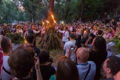 Free ZAPORIZHIA, UKRAINE-JUNE 21: Celebrating Kupala Night 21, 2014 I Stock Photography - 41849462