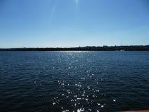 Zaporoska rzeka Obraz Royalty Free