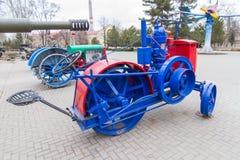 Zaporozhets jest pierwszy Radziecki ciągnikowy Zaporizhia obraz royalty free