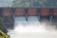 zaporozhye Украины станции реки гидроэлектрической энергии dnepr Стоковая Фотография