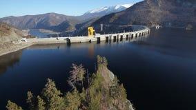 zaporozhye Украины станции реки гидроэлектрической энергии dnepr сток-видео