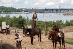 Zaporozhye Cossacks Στοκ εικόνες με δικαίωμα ελεύθερης χρήσης
