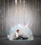 Zapory i antivirus pojęcie Zdjęcie Stock