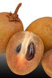Zapote, fruta tropical Fotos de archivo libres de regalías