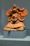 Zapotec神Monte奥尔本瓦哈卡墨西哥 图库摄影