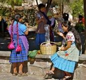 Zapotec妇女 免版税图库摄影