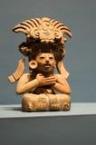 Zapotec bóg Alban Oaxaca Meksyk obraz stock