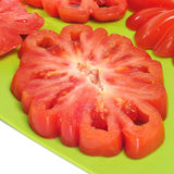 Zapotec heirloom tomato Royalty Free Stock Image