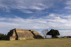 Zapotec-Ruinen Lizenzfreie Stockfotos