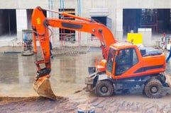 Zappatore arancio Immagine Stock Libera da Diritti