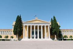 Zappeion hall in Athens, Greece. Zappeion hall historical building in Athens, Greece royalty free stock photography