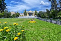 ` Zappeion Megaron `在雅典,希腊在Syndagma广场附近位于 库存图片