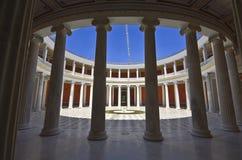 Zappeion megaron in Athene Royalty-vrije Stock Foto's