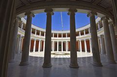 Zappeion megaron at Athens Royalty Free Stock Photos