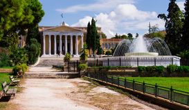 Zappeion Megaron Hall av Aten Royaltyfri Fotografi