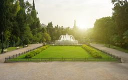 Zappeion national garden. royalty free stock image