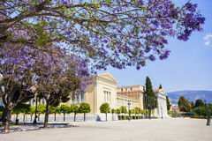 Zappeion, one of the major landmarks of Athens, Greece. One of the major landmarks of Athens, Zappeion, Greece Stock Photos