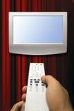 zapping tv Стоковая Фотография RF