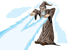 Zapping Wizard Stock Photos