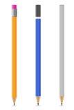 Zaprawiona ołówka wektoru ilustracja Zdjęcie Stock