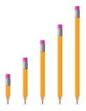 Zaprawiona ołówka wektoru ilustracja Obraz Stock