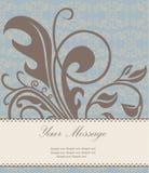 Zaproszenia lub zawiadomienia karta Zdjęcie Royalty Free