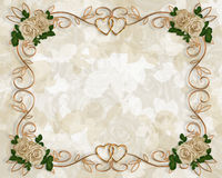 zaproszenia róż target68_1_ Obrazy Royalty Free
