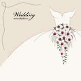 zaproszenia rocznika ślub Zdjęcia Royalty Free