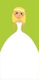 zaproszenia vertical ślub Fotografia Stock