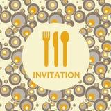 Zaproszenie royalty ilustracja