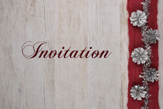 zaproszenie Obrazy Royalty Free