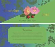 Zaproszenie 4 ilustracji