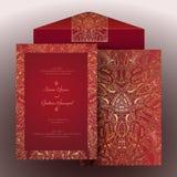 Zaproszenie arabic-2 royalty ilustracja