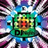 Zaproszenie dla discotheque Obraz Royalty Free
