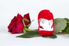 zaproszenie karciany ślub Fotografia Stock