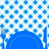 zaproszenie karciany menu Zdjęcie Royalty Free