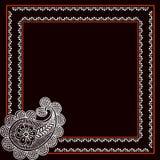 zaproszenie karciany układ Obrazy Royalty Free