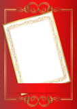 Zaproszenie karta Fotografia Stock