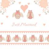 Zaproszenie karta dla poślubiać Obrazy Royalty Free