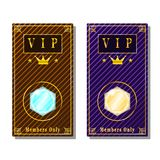 Zaproszenie karta dla VIP persons ilustracji