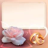 1 zaproszenie karty Fotografia Stock