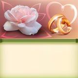 1 zaproszenie karty Obraz Royalty Free