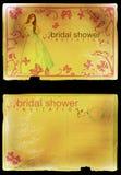 zaproszenie ślubne prysznic Fotografia Stock
