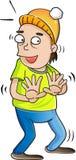 zaprzecza ręki mężczyzna portreta target386_0_ Fotografia Royalty Free