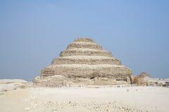 Zaqqara Pyramid in Egypt Stock Photo