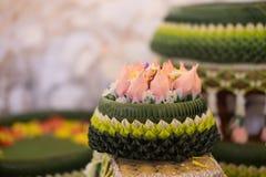 Zaręczynowy puchar dla Tajlandzkiej zaręczynowej ceremonii Fotografia Stock