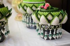 Zaręczynowy puchar dla Tajlandzkiej zaręczynowej ceremonii Zdjęcia Royalty Free