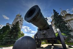 Zar-Kanone - Moskau, Russland stockfotografie