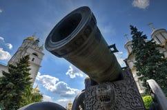 Zar-Kanone - Moskau, Russland stockbilder