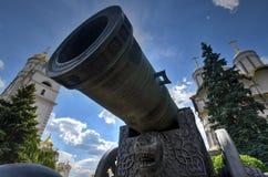 Zar-Kanone - Moskau, Russland lizenzfreie stockbilder